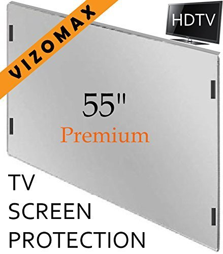 55 inch Vizomax TV Screen Protector for LCD, LED, OLED & QLED HDTV