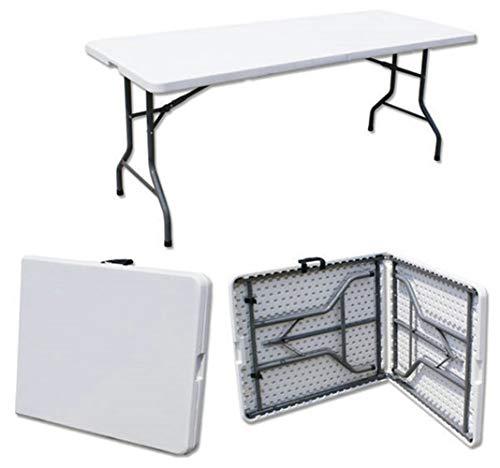 YUWEN 180 * 74 * 74 cm Mehrzwecklaptop-Klapptisch-Konferenztisch Picknicktisch im Freien