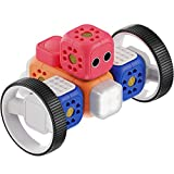 Robo Wunderkind Lernroboter für Kinder ab 5 Jahren - Lego-kompatibler Robotik Baukasten mit von Pädagogen erstellten Anleitungen zum spielerischen Programmieren Lernen - Entwickelt in Österreich