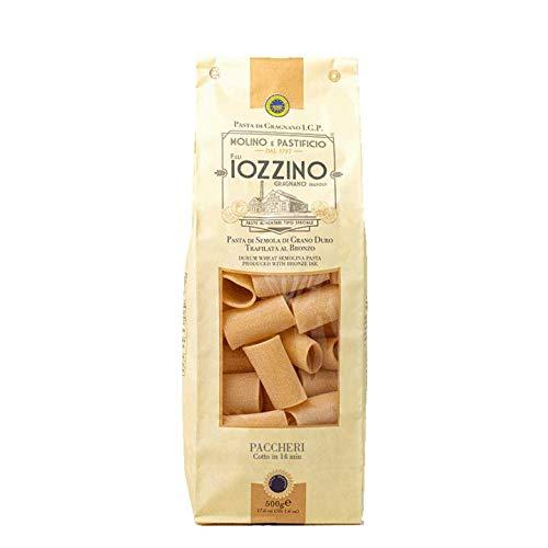 Pastificio F.lli Iozzino - Pasta di Gragnano IGP - Paccheri 3Kg (6x500gr)