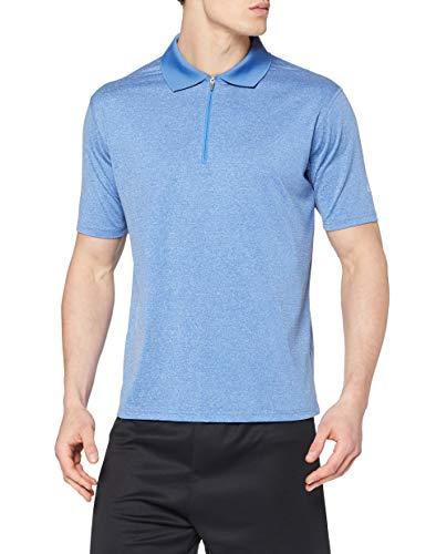 Trespass Maraba Polos Homme Bleu chiné FR : 2XL (Taille Fabricant : XXL)