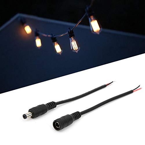 Conector de Enchufe Hembra/Macho Cable LED de Enchufe para iluminación Exterior LED