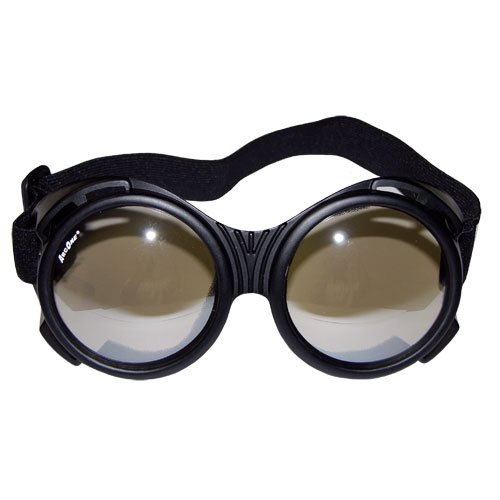 ArcOne G-FLY-A1101 The Fly Safety Goggles, Single, Clear Lens and Silver Mirror Finish