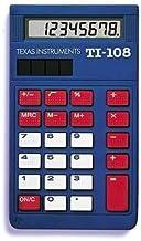 Texas Instruments TI-108 Solar Power Calculator/Teacher's Kit (set of 10)