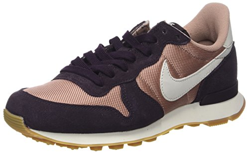 Nike Damen WMNS Internationalist  Sneaker, Mehrfarbig (Particle Pink/Light Bone-Port Wine-Gum Medium), 38.5 EU