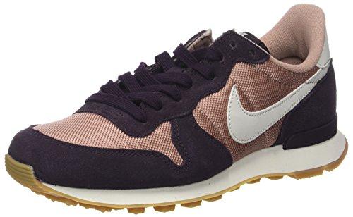 Nike Nike Damen WMNS Internationalist Sneaker, Mehrfarbig (Particle Pink/Light Bone-Port Wine-Gum Medium), 36 EU