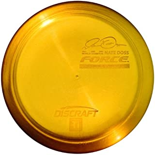 Discraft Force Titanium Golf Disc, Colors May Vary
