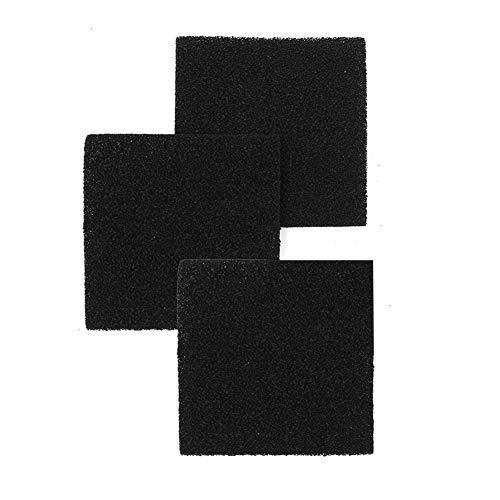 Kohlefilter Aktivkohlefilter Baumwolle für Küche Öl-Proof Papier Vlies Ölfest Öldichte Serie Dunstabzugshaube Filter für Hauben 3 Stück