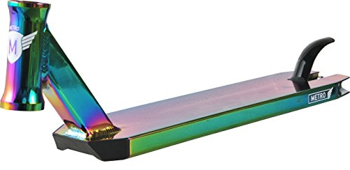 Longway Metro Scooter Deck Freestyle (500mm - Neochrome)