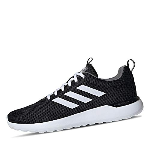 adidas Mens Lite Racer CLN Sneaker, Core Black/Cloud White/Grey, 44 EU