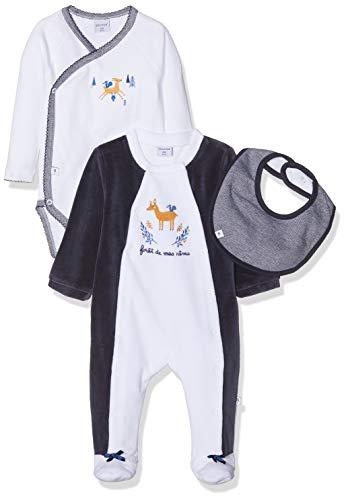 Absorba 7p54121-ra Ens Dors Bien Pijama, Azul (Marine Blue 04), 6-9 Meses (Talla del Fabricante: 6M) para Bebés