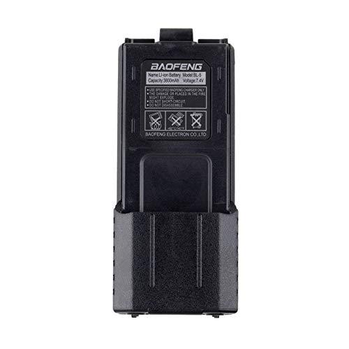 para Baofeng BL-5L 3800mah 7.4v Reemplazo de batería de Ion de Litio extendido y energía de Respaldo de la batería para Radio Baofeng UV-5R