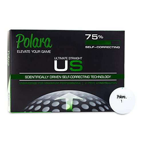 Polara Self-Correcting Golf Balls   Anti Slice Golf Balls Guaranteed to Reduce Hooks and Slices   Serious Balls for Serious Fun!