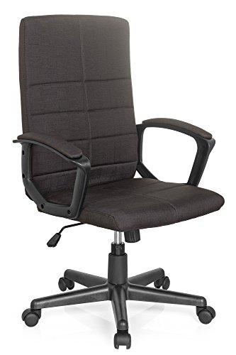 Sedia da ufficio / Sedia girevole STARTEC CL200 tessuto nero