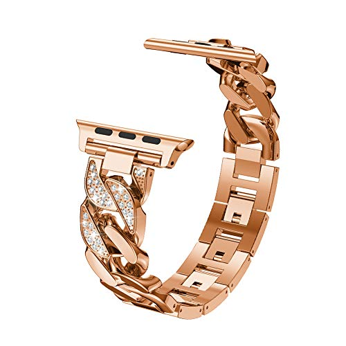 Tonquu Bling Watch Bands Compatible for Smartwatch Bands...