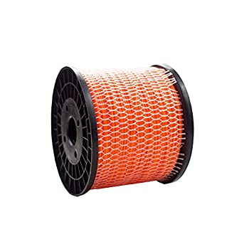Yeerch 3-Pound Commercial Round .095-Inch-by-807-ft String Low Noise Trimmer Line.