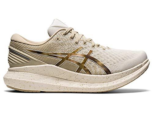ASICS Men's Glideride 2 Running Shoes, 12M, Cream/Putty