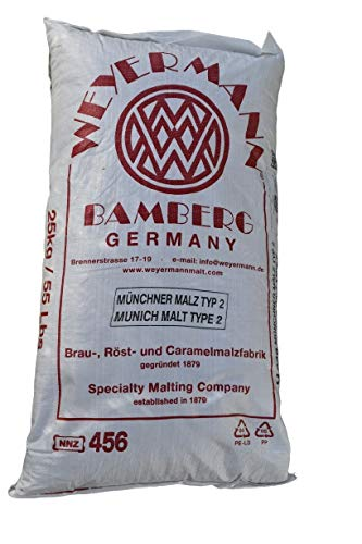 Weyermann Münchner Malz 25kg Made in Germany, Bier brauen