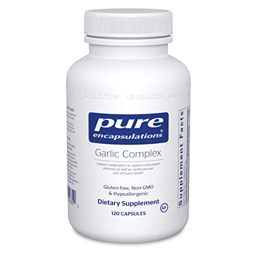 Pure Encapsulations Garlic Complex   Supplement to Support Antioxidant Defenses, Immune Health, and...