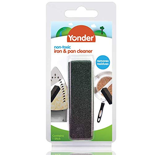 Yonder Non-toxic Iron & Pan Cleaner | Removes residues & stains from Pots, Pans & More, 1 Count