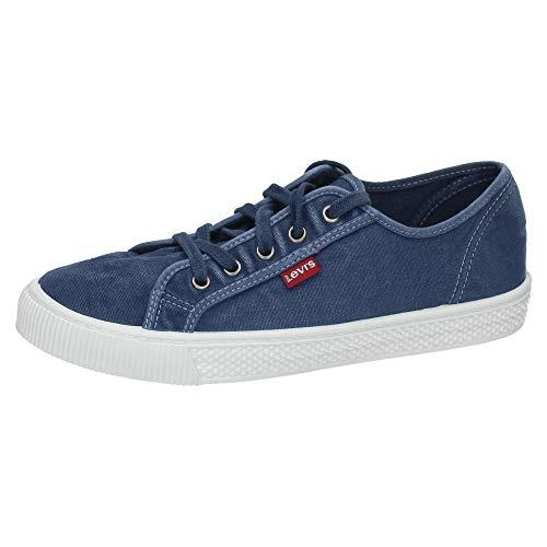 ZAPATOP 38099-1202 Lonas Levis Hombre Zapatillas Azul 43