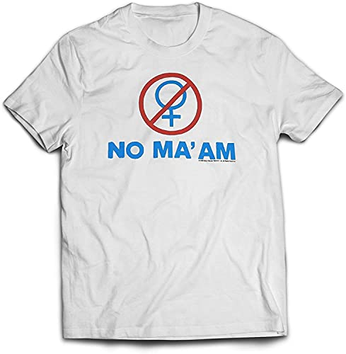 Old Glory Mens Married With Children - No Maam T-Shirt large Wh