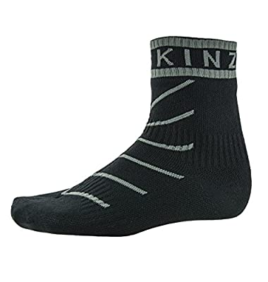 SEALSKINZ Waterproof Warm Weather Ankle Sock with Hydrostop with Cuff