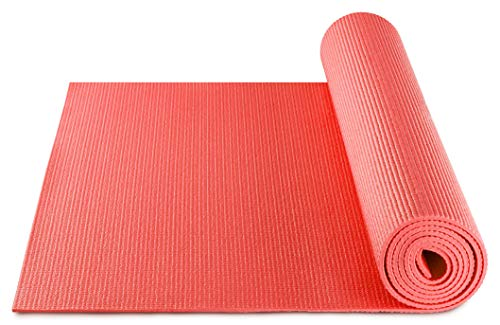 BODYMATE Esterilla de Yoga Universal | Tamaño 183x61 cm | Grosor 5 mm | Libre de ftalatos, BPA y Metales Pesados | Esterilla para Fitness, Yoga, Pilates, Entrenamiento Funcional