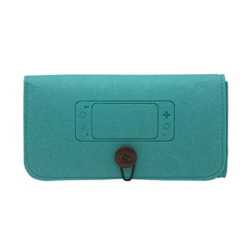 Nintendo Switch Lite bolsa de fieltro para consola de juegos bolsa de protección bolsa de almacenamiento portátil