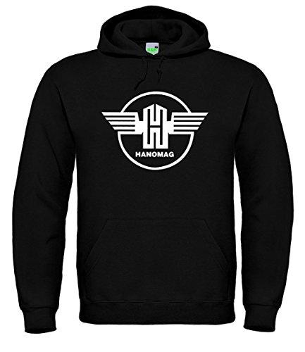 Bimaxx Hoodie Hanomag | schwarz | Größe XL