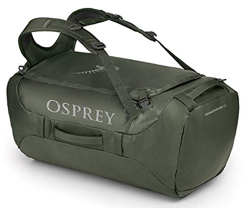 Osprey Transporter 65 Travel Duffel Bag, Haybale Green, One Size