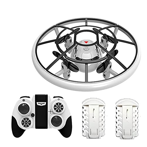 Mini drone per bambini Quadricottero RC azionato a mano con tempo volo più lungo, mantenimento dell'altitudine, modalità senza testa, capovolgimento 3D e 3 modalità velocità Aereo per bambini e prin