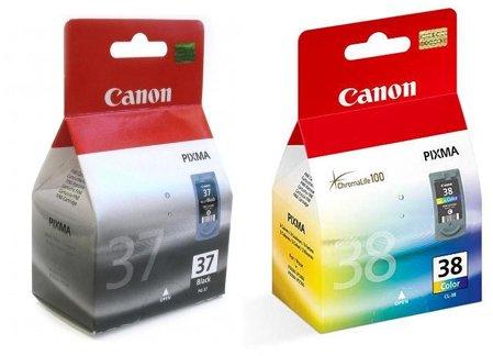 2 cartucho de tinta para impresora Canon Pixma MP470 - negro + Tri-color luz - usuario