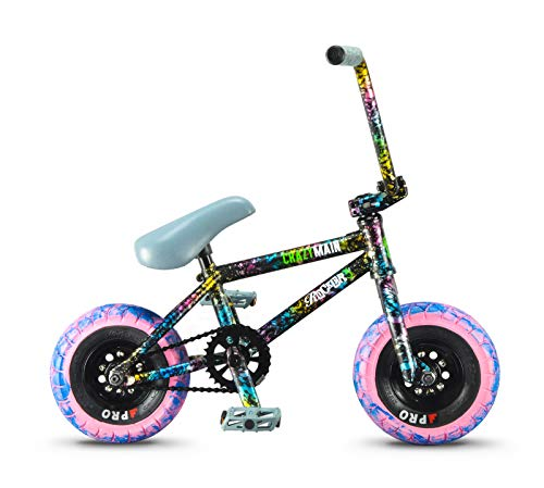 Rocker 3+ Freecoaster Crazy Main Splatter Mini BMX Bike