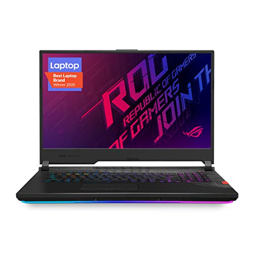 "ASUS ROG Strix Scar 17 (2020) Gaming Laptop, 17.3"" 300Hz IPS Type FHD, NVIDIA GeForce RTX 2070 Super, Intel Core i7-10875H, 16GB DDR4, 1TB PCIe NVMe SSD, Per-Key RGB KB, Windows 10, G732LWS-DS76"