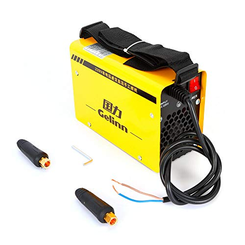 BTdahong 220 V Máquina de soldadura profesional Inverter soldadora IGBT ZX7-200 tubo único 200 A portátil soldador eléctrico Welder Kit eficiente fácil