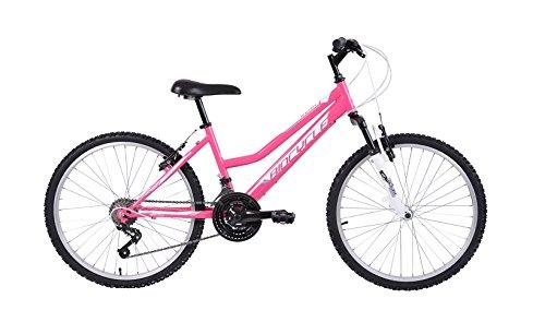 Biocycle Duna susp 24' Bicicleta de Montaña, Niñas, Rosa, S