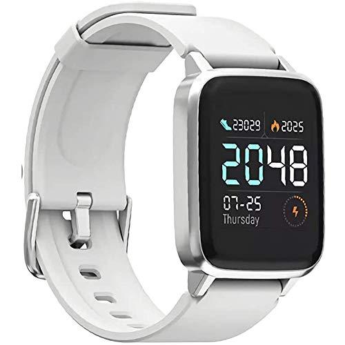 Liapianyun Correa del Monitor Cardiaco, IP68 A Prueba De Agua 210 Mah 14 Días En Espera Mi Smartwatch para Soportes De Telefonía Móvil con Múltiples Modos Deportivos Recordatorio Inteligente,1