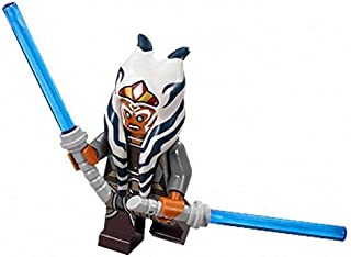 LEGO Star Wars Rebels Minifigure - Ahsoka Tano with Dual Lightsabers (75158)