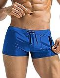 COOFANDY Mens Fashion Swim Trunks Swimming Brief Tight Swimsuit Board Shorts