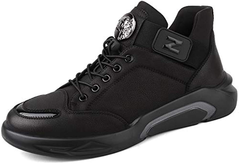 LOVDRAM Men's shoes Spring New Men'S shoes Soft Face Warm Sports shoes Non-Slip Men'S shoes Fashion
