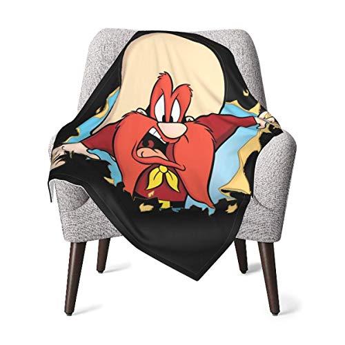 Hdadwy Looney TunES Yo_SemiTe Sam - Manta de felpa para bebé, manta de recepción difusa para regalo de niños pequeños, cálida y acogedora manta de guardería para exteriores (30 'X40')