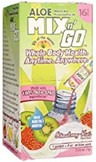 Lily Of The Desert Mix N Go Aloe Drink, Strawberry Kiwi, 16 Count