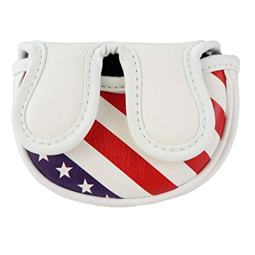 Toygogo Golf Putter Head Covers & Magnetic Closure - Designed for Smaller Mallet Putters