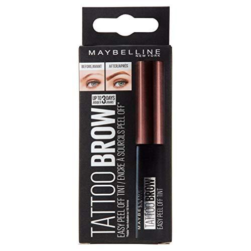 Maybelline New York Brow Tattoo Longlasting Tint, Dark Brown, 4.9 ml
