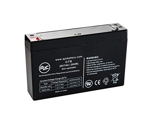 Batterie UpsonicSLIM 1000 6V 7Ah UPS - Ce Produit est Un Article de Remplacement de la Marque AJC®