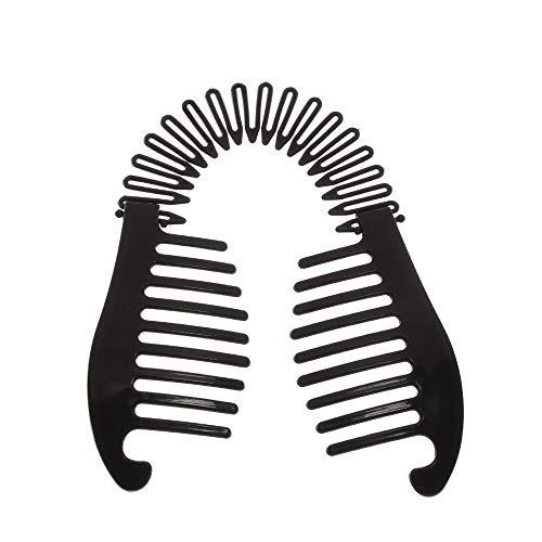 Haarspangen für Damen, elastisch, Bananenspange, Skorpion-Stil, Werkzeug, Pferdeschwanz, Gummi, Haar-Zubehör