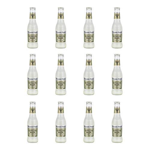Fever Tree Lot de 12 bières au gingembre 200 ml