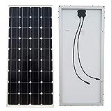ECO-WORTHY 120W Monocrystalline Solar Panels Waterproof Power Module for 12V Battery Charging Home