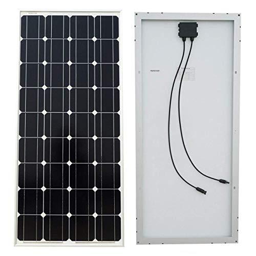 ECO-WORTHY 120W 18V Monocristalino Solar Power Panels Impermeable Módulo para carga de batería Home in On-Grid